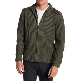 Weatherproof NEW Olive Green Mens Size Small S Full Zip Sweater