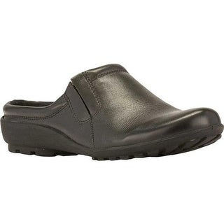 Walking Cradles Women's Hamlet Slip On Black Softee Leather