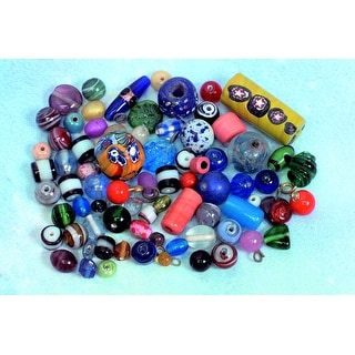Stanislaus Glass Indian Bead Assortment, 1/2 Pound