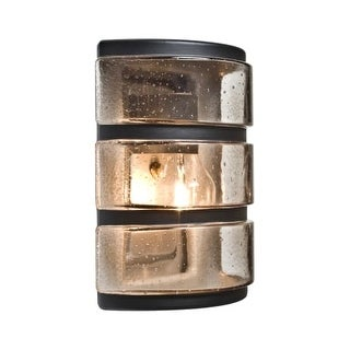 """Besa Lighting 3534 Costaluz Single Light 9-1/4"""" Tall Outdoor Wall Sconce with Gl"""