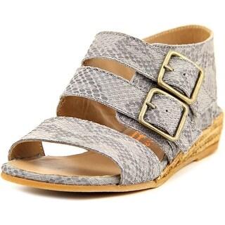 Eric Michael Noriko Women Open-Toe Synthetic Gray Slingback Sandal