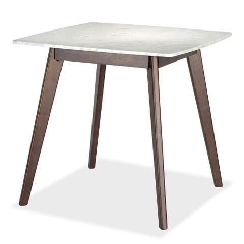 Poly and Bark Riley Marble Square Dining Table