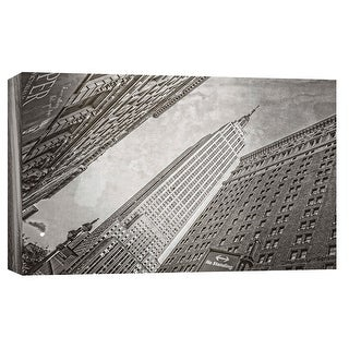 "PTM Images 9-103828  PTM Canvas Collection 8"" x 10"" - ""Empire State Building 1"" Giclee Empire State Building Art Print on Canvas"