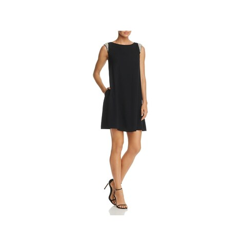 Aidan Mattox Womens Cocktail Dress Trapeze Embellished