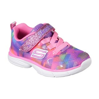 Skechers 81337L NPMT Girl's SPIRIT SPRINTZ - RAINBOW RAZ Sneaker