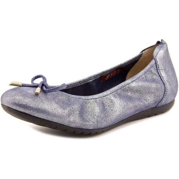 Sabrinas London V16 Women Round Toe Suede Blue Mary Janes