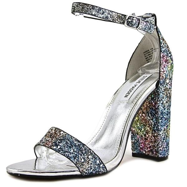 Womens Carrson Open Toe Heels, Multi-Coloured Steve Madden