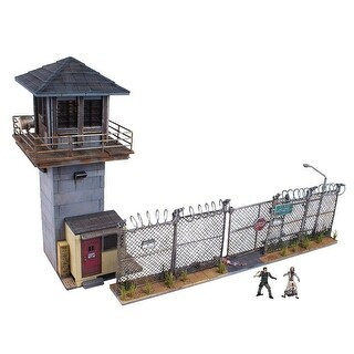 The Walking Dead Building Sets: Prison Tower & Gate - Multi