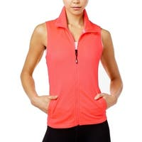 Tommy Hilfiger Womens Small Perforated Vest Jacket