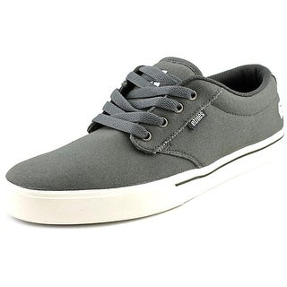Etnies Jameson 2 Eco Men Round Toe Canvas Gray Skate Shoe