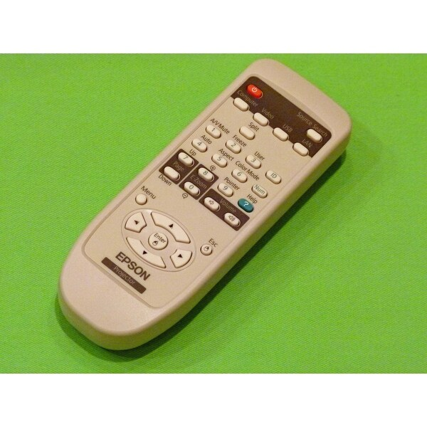 Epson Remote Control Originally Shipped With: PowerLite D6155W, PowerLite D6250