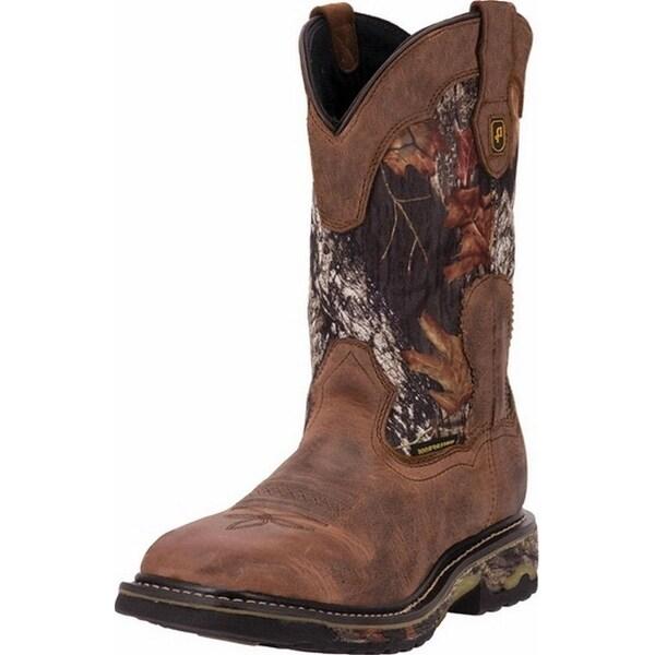 """Dan Post Work Boots Mens 11"""" Hunter ST Waterproof Saddle Tan"""