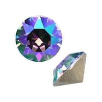 Swarovski Elements Crystal, 1088 Xirius Round Stone Chatons pp24, 36 Pieces, Paradise Shine