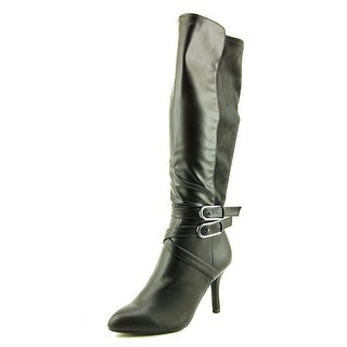 CL By Laundry Show Biz   Round Toe Synthetic  Knee High Boot