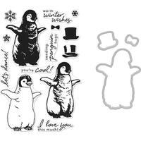 Hero Arts Color Layering Bundle-Penguin