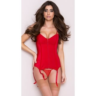 Zip Front Sweetheart Corset (More options available)