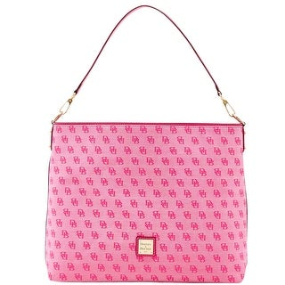 Dooney & Bourke Madison Signature Giant Sac (Introduced by Dooney & Bourke at $268 in Jun 2016) - Fuchsia