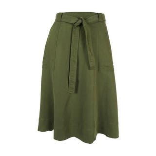 Tommy Hilfiger Women's A-Line Utility Skirt|https://ak1.ostkcdn.com/images/products/is/images/direct/e03846d30633012f17c5e104737533b1c10aa893/Tommy-Hilfiger-Women%27s-A-Line-Utility-Skirt.jpg?impolicy=medium