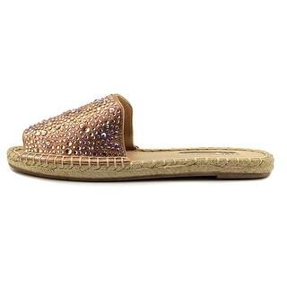 INC International Concepts Womens Ilta2 Fabric Peep Toe Espadrille Flats
