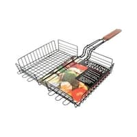 CC3013 Non-Stick Rectangle Grilling Basket  12.6 x 24 x 2.4 in.