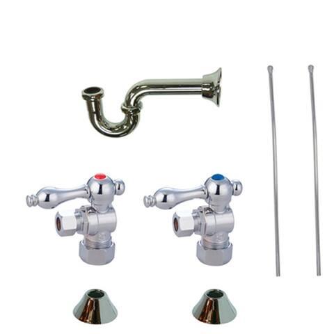 Kingston Brass CC5330LKB30 Trimscape Sink Plumbing Trim Kit with P