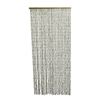36 Strand Loop and Knot Design Decorative Jute Rope Curtain 77 X 36 Inch