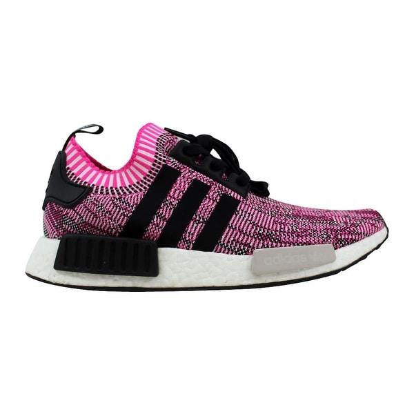 7663c945a Shop Adidas Women s NMD R1 W Primeknit Pink Black BB2363 Size 10 ...