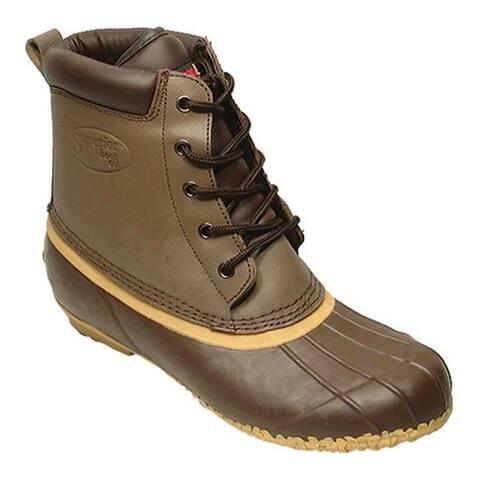 Superior Boot Co. Boys' 5-Eye Duck Brown