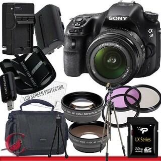 Sony Alpha SLT-A58K SLT-A58 DSLR Digital Camera with 18-55mm Lens 32GB Package 2