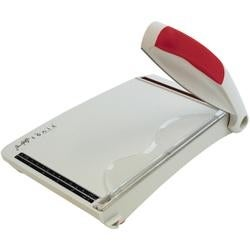 Grey/Red - Tim Holtz Guillotine Comfort Trimmer 8.5""