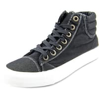 Blowfish Madras Women   Canvas Black Fashion Sneakers