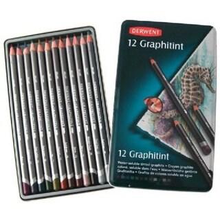 Derwent 0700802 Graphitint Pencil 12-Color Set