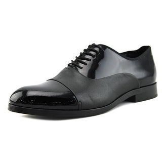 Calvin Klein Lloyd   Cap Toe Patent Leather  Oxford