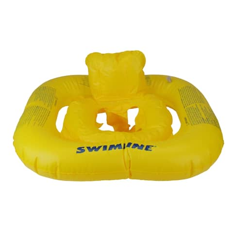 """22"""" Inflatable Yellow Baby Buoy Swimming Pool Float"""