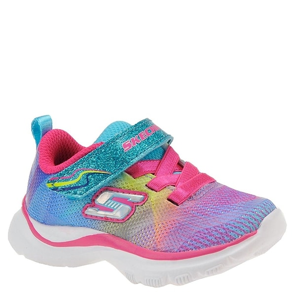 bda75a8a5e88 Shop SKECHERS KIDS Baby Girl s Trainer Lite (Toddler) Multi - multi 2 -  Free Shipping Today - Overstock - 18275824