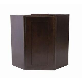 """Design House 562363 Brookings 24"""" Single Door Corner Wall Cabinet"""