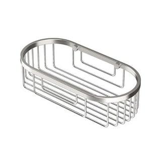 Gatco 1577 10 Inch Oval Shower Basket