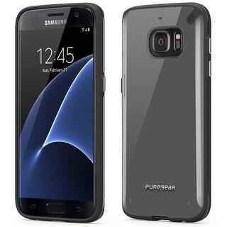 PureGear Slim Shell Samsung S7 - Clear/Black