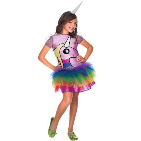 Rubies Lady Rainicorn Child Costume - Rainbow