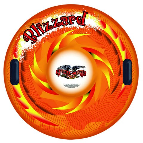 """Paricon I-39 Flexible Flyer Blizzard Inflatable Snow Tube with 2 Handles, 39"""""""