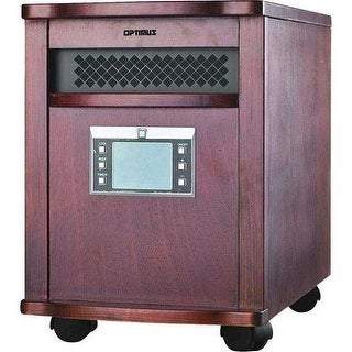 Optimus H8010 Infrared Quartz Heater with Remote