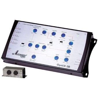 Optidrive 3 Way Electronic Crossover Network w/Remote Bass Boost Level Control