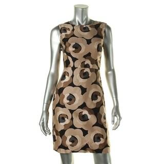 Kate Spade Womens Silk Blend Floral Print Casual Dress - 2