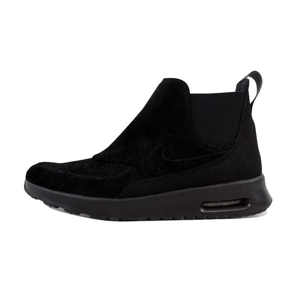 cheapest price buy popular look for Shop Nike Women's Air Max Thea Mid Black/Black-Metallic Pewter ...