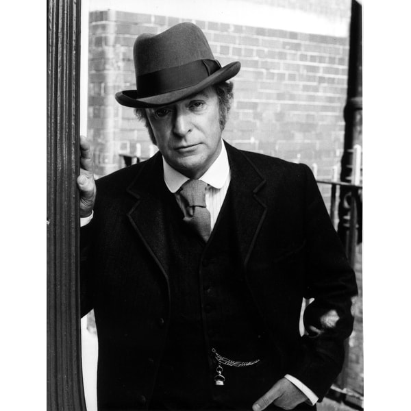 Shop Michael Caine wearing a trilby Photo Print - Free Shipping On Orders  Over  45 - Overstock.com - 25385581 68fb934eb20
