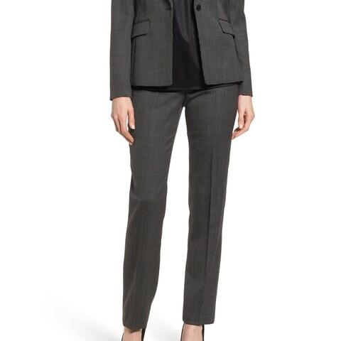 Hugo Boss Black Womens Size 2 Tamera Straight Leg Dress Pants