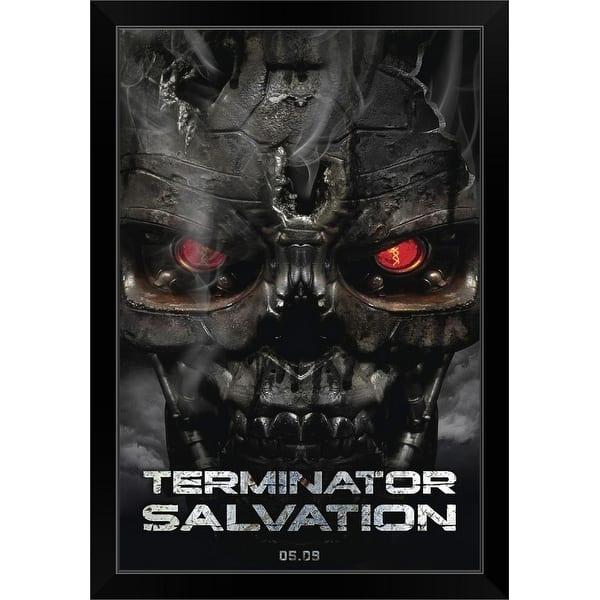 Shop Terminator Salvation 2009 Black Framed Print On Sale Overstock 31179217