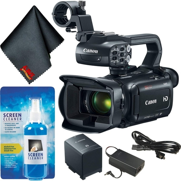 Canon XA11 Compact Full HD Camcorder Bundle Basic. Opens flyout.