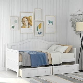 Link to Merax Twin Wooden Daybed with 2 Drawers Similar Items in Kids' & Toddler Furniture