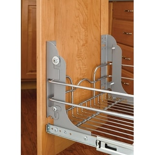 Rev-A-Shelf 5WB-DMKIT  Door Mount Kit for 5WB Seris Pullout Baskets - Silver